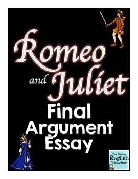 Research Paper, Essay on Romeo and Juliet - Dream Essays